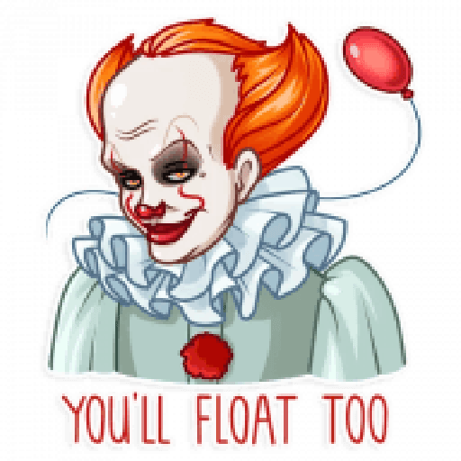 Pennywise - Sticker 10