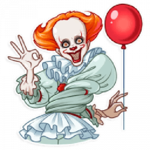 Pennywise - Sticker 7