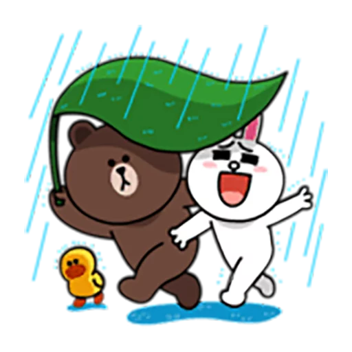 Brown and Cony 1 - Sticker 7