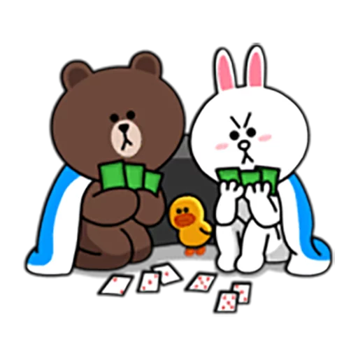 Brown and Cony 1 - Sticker 10