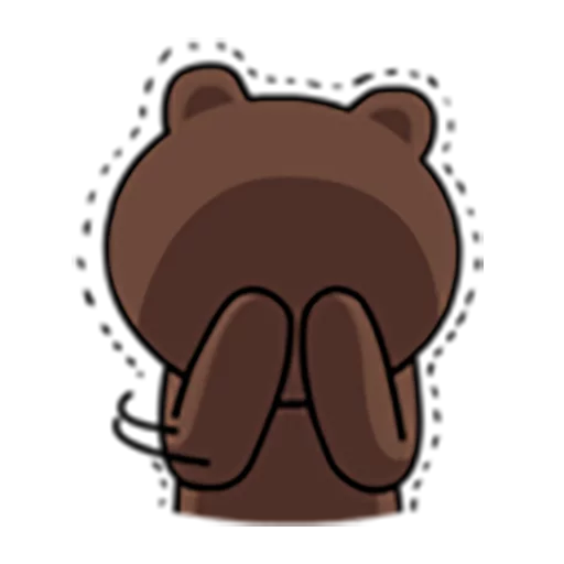 Brown and Cony 1 - Sticker 20