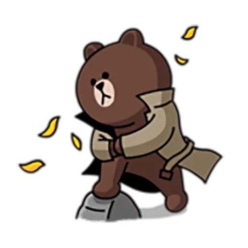 Brown and Cony 1 - Sticker 17