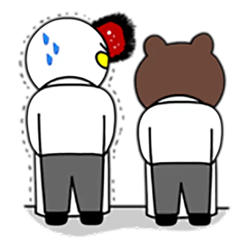 Brown and Cony 1 - Sticker 24