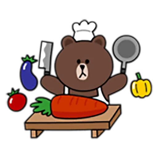 Brown and Cony 1 - Sticker 27