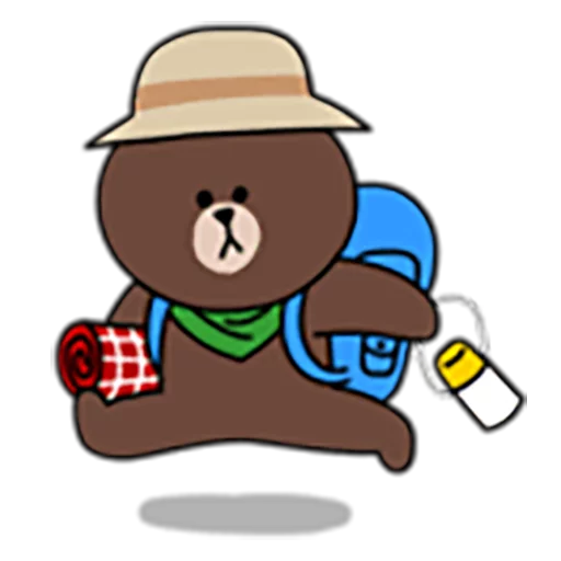 Brown and Cony 1 - Sticker 13