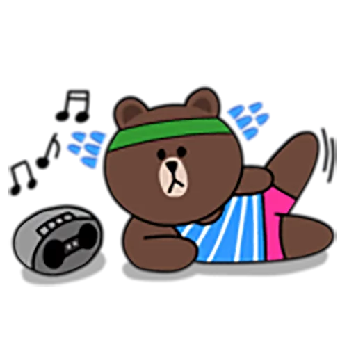 Brown and Cony 1 - Sticker 11