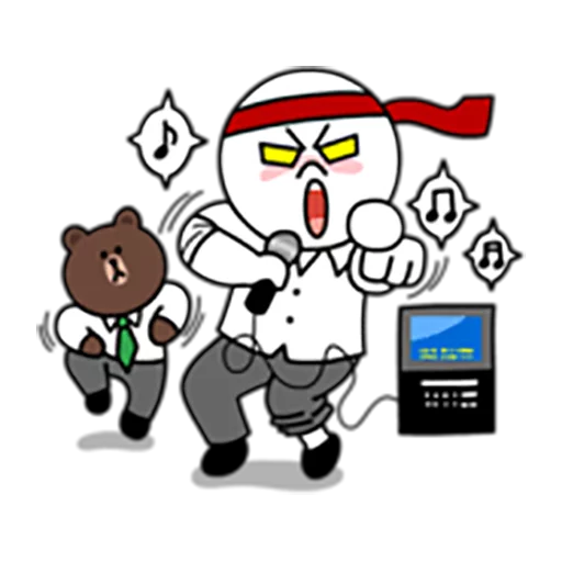 Brown and Cony 1 - Sticker 29