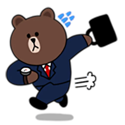 Brown and Cony 1 - Sticker 2