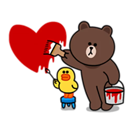 Brown and Cony 1 - Sticker 25