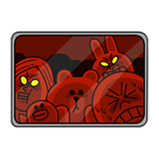 Brown and Cony 1 - Sticker 5