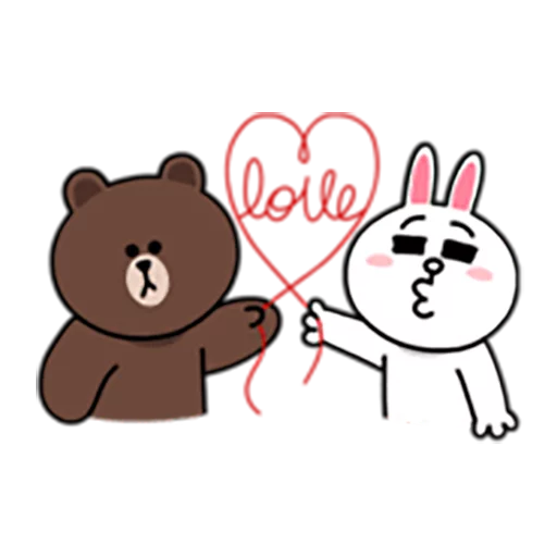 Brown and Cony 1 - Sticker 22