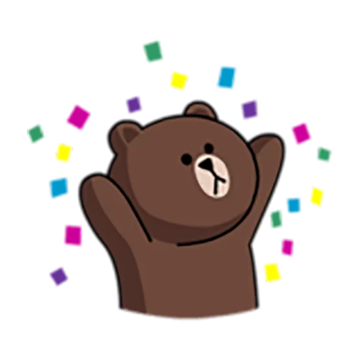 Brown and Cony 1 - Sticker 6