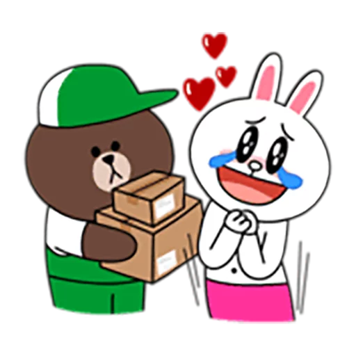 Brown and Cony 1 - Sticker 16