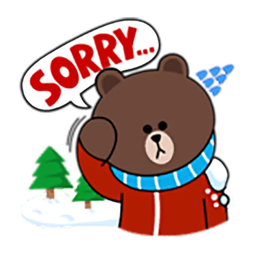 Brown and Cony 1 - Sticker 3