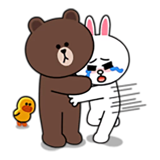 Brown and Cony 1 - Sticker 19