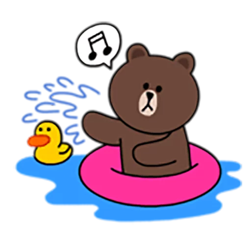 Brown and Cony 1 - Sticker 28