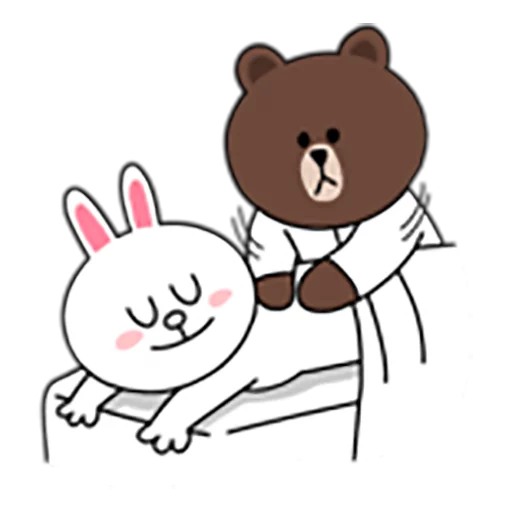 Brown and Cony 1 - Sticker 23