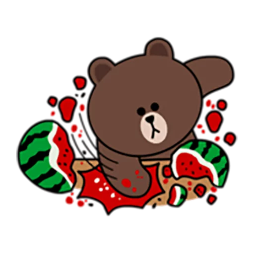 Brown and Cony 1 - Sticker 9