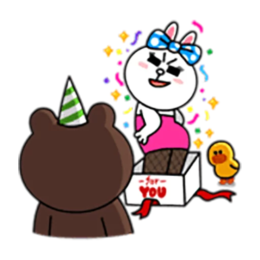 Brown and Cony 1 - Sticker 14