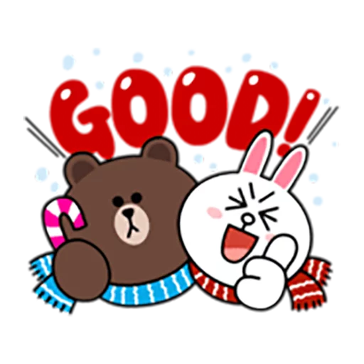 Brown and Cony 1 - Sticker 4
