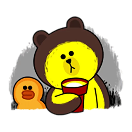 Brown and Cony 1 - Sticker 12