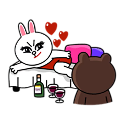 Brown and Cony 1 - Sticker 26