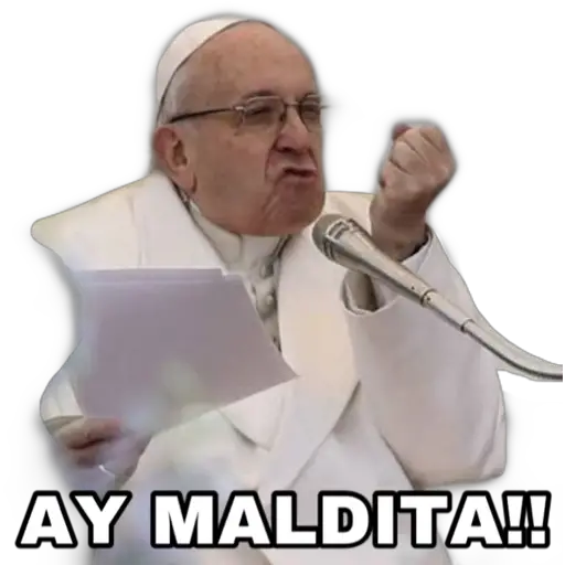 Papa Memes - Tray Sticker