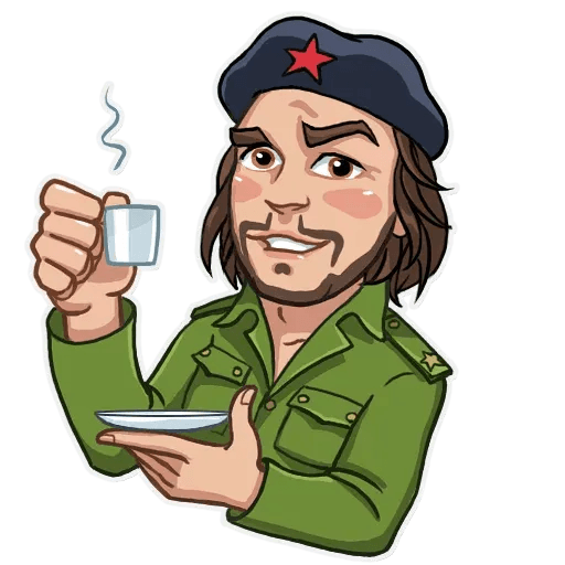Comrade Che - Sticker 15