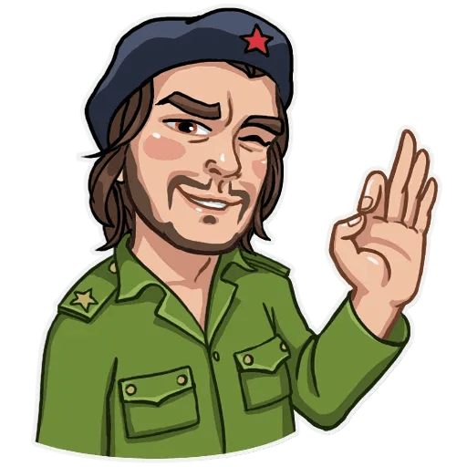Comrade Che - Sticker 18