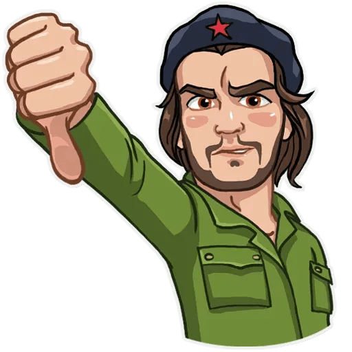 Comrade Che - Sticker 10