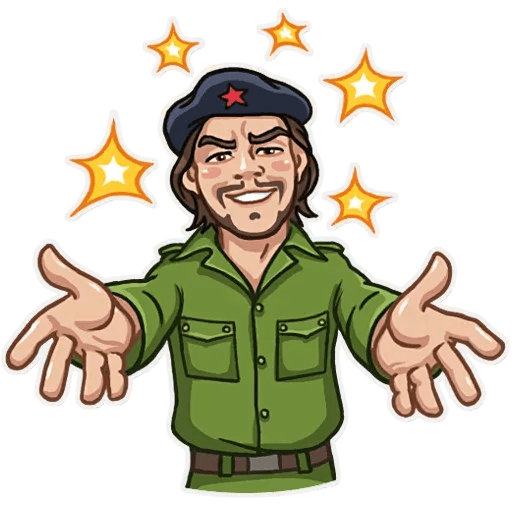 Comrade Che - Sticker 5