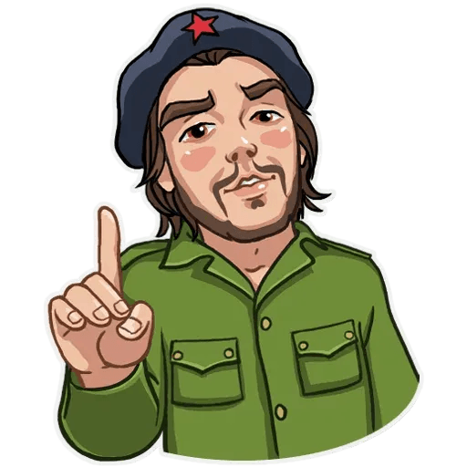 Comrade Che - Sticker 19