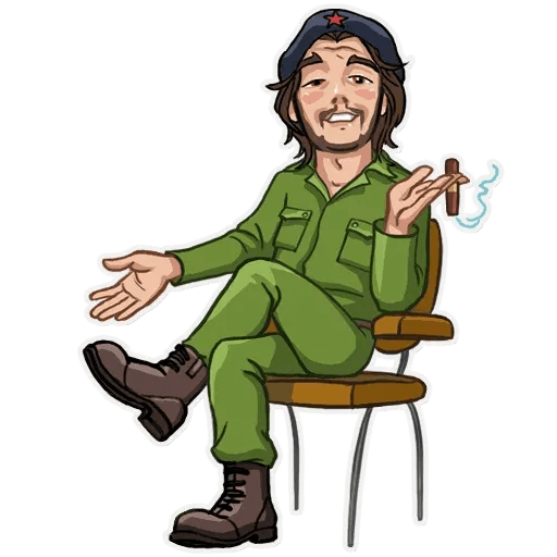 Comrade Che - Sticker 8