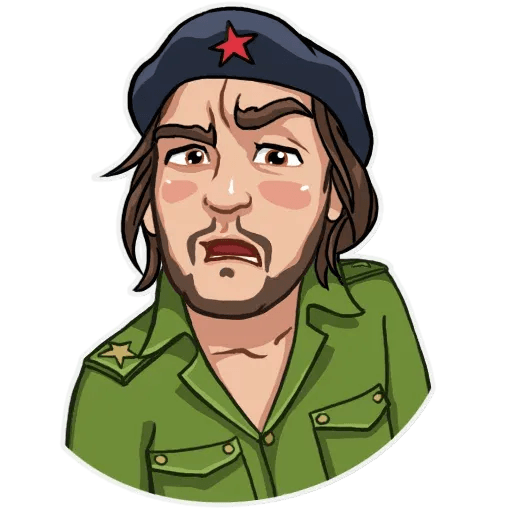 Comrade Che - Sticker 4