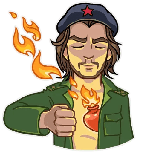 Comrade Che - Sticker 7