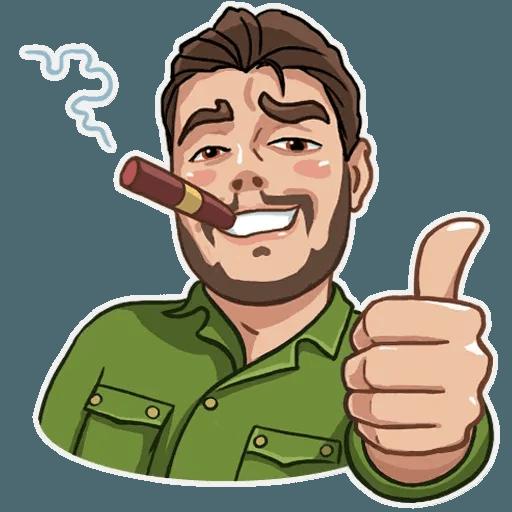 Comrade Che - Sticker 3
