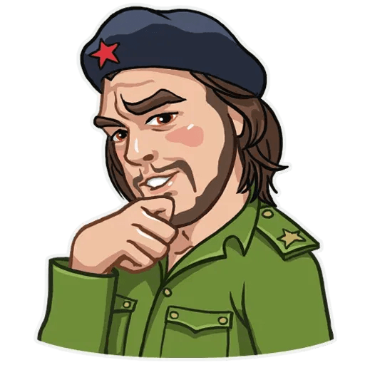 Comrade Che - Sticker 12