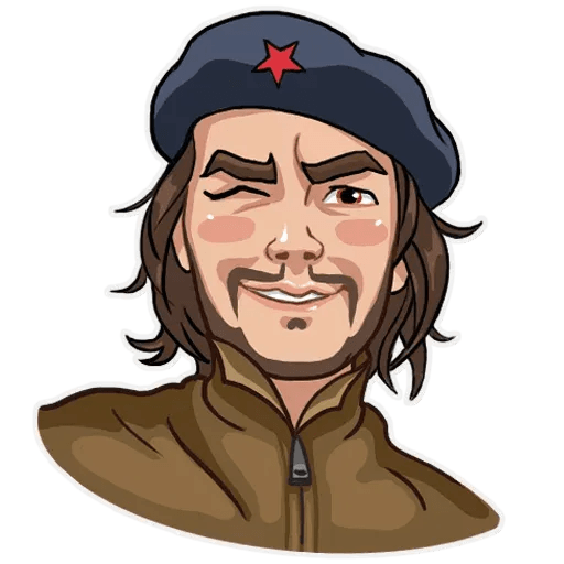 Comrade Che - Sticker 20