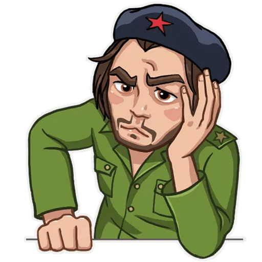 Comrade Che - Sticker 6