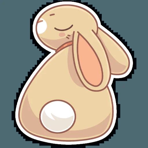 Almond Bunny - Sticker 14