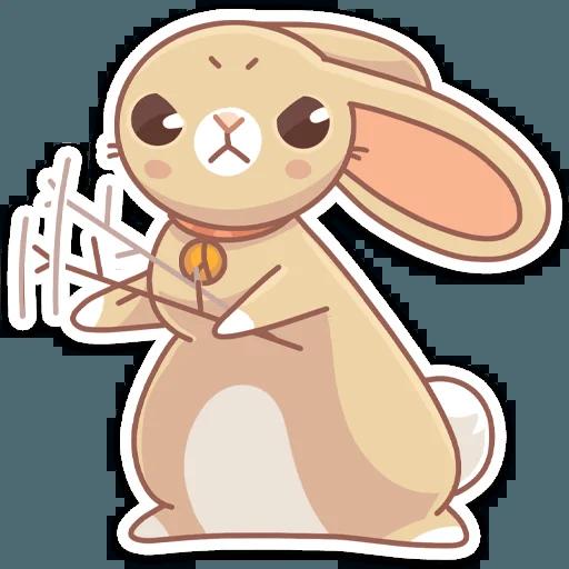 Almond Bunny - Sticker 12