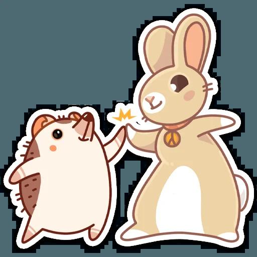 Almond Bunny - Sticker 16