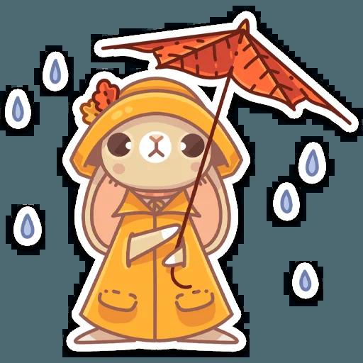 Almond Bunny - Sticker 18