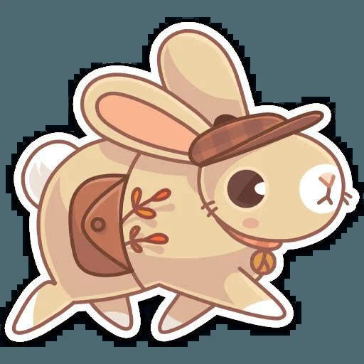Almond Bunny - Sticker 9