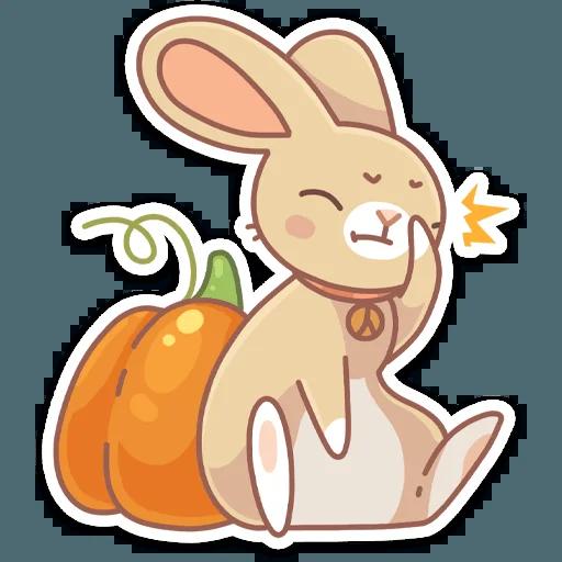 Almond Bunny - Sticker 19