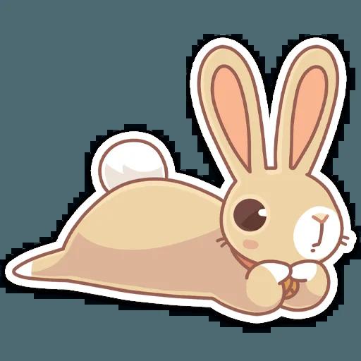 Almond Bunny - Sticker 8