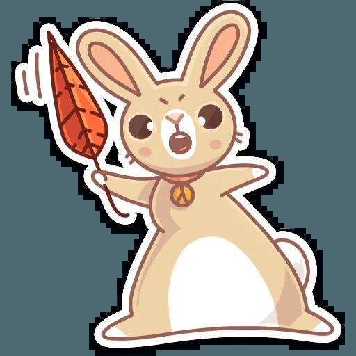 Almond Bunny - Sticker 17