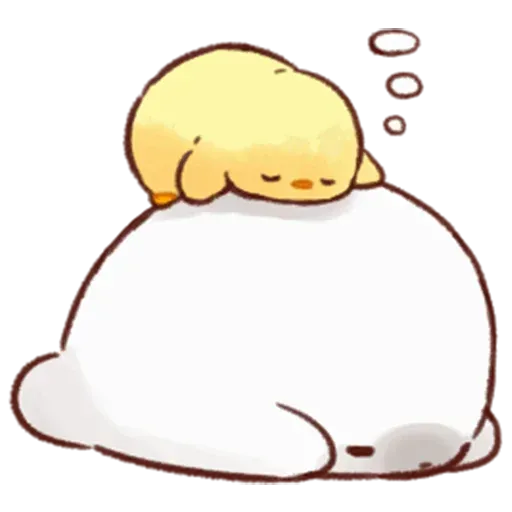 Soft and Cute Chick - Sticker 4