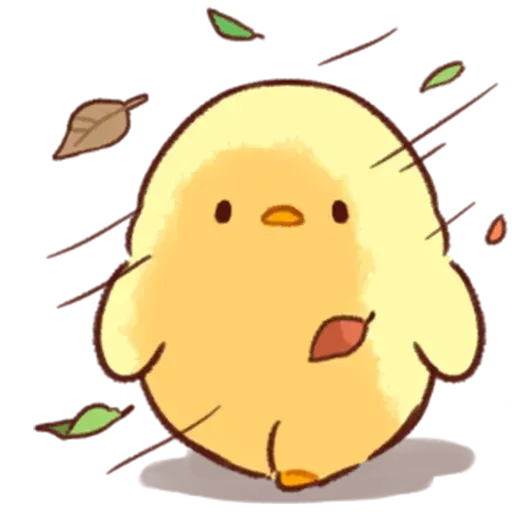 Soft and Cute Chick - Sticker 21