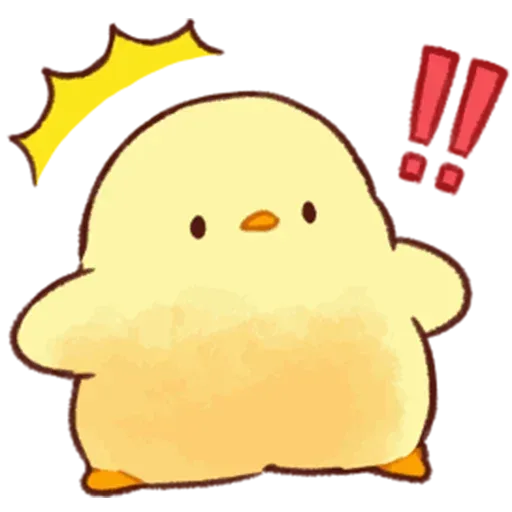 Soft and Cute Chick - Sticker 6